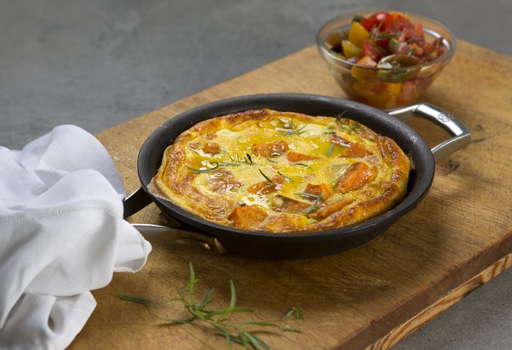 Sweet Potato Frittata with Fresh Tomato Salsa - Maggie Beer