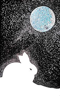 "Saatchi Art Artist Sophia Kim; Painting, ""SOLD _A Lunar Rabbit"" #art"