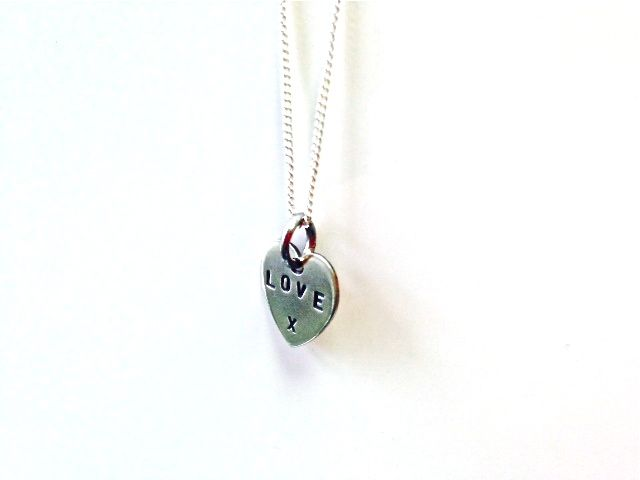 Love heart necklace - see the full Livto collection at www.livto.co.uk
