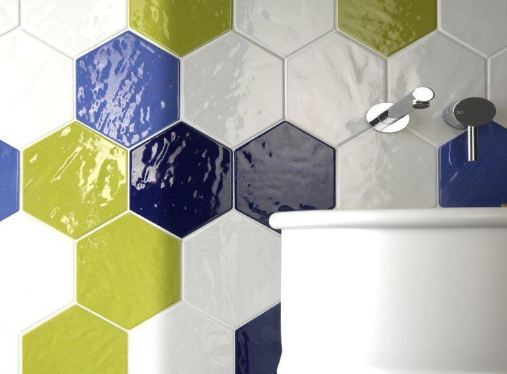 Modern & Elegant Hexangonal Tiles from TileStyle.