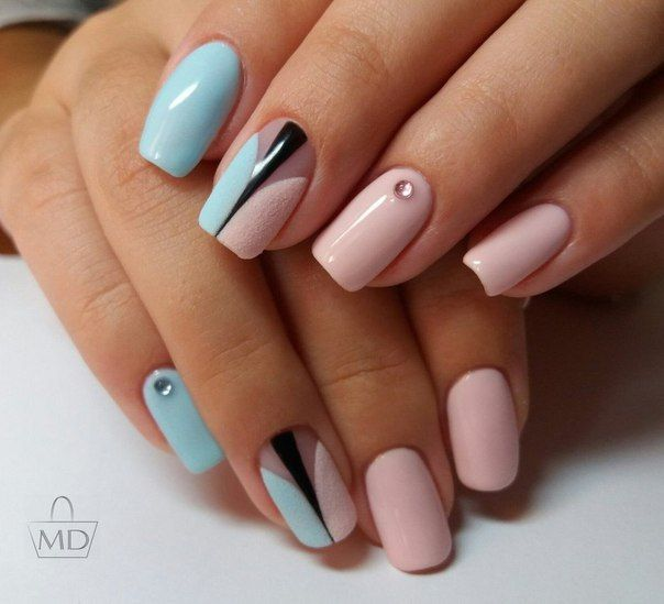 Best 25 pink blue nails ideas on pinterest sparkly nails furry nails art pink blue prinsesfo Choice Image
