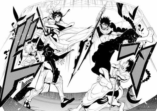 Imagen de aladdin, manga, and magi
