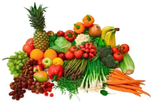 Kunterbunt: Obst und Gemüse ist gesund. Kalorienarm ist es sicher auch, oder?