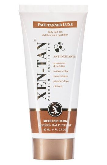 Xen-Tan® 'Face Tanner Luxe' Premium Sunless Tan. Not interested in tan towels? Here is a wonderful alternative! Xen-tan gives you a beautiful natural color with a time release ingredient, which will provide you with a super smooth tan for face and throat.