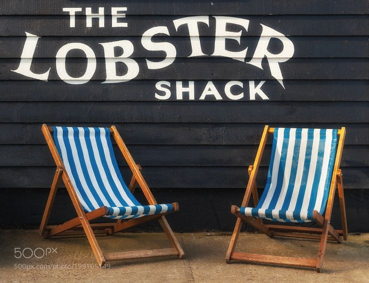Here Comes Summer by Njones59 from http://500px.com/photo/199165149 - The Lobster Shack seafood restaurant in Whitstable Kent looks set for summer.. More on dokonow.com.