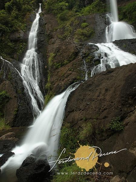 The Pongas Falls in Tap-ew, Sagada