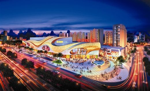 Guilin Hi Tech Wanda Plaza | Aristo LED