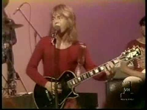 """RICK DERRINGER [Rock & Roll Hoochie Koo] (1973)  """"'Squitos start buzzin' 'bout that time of year   She's goin' 'round back, said she'd meet me there   We was ballin' in the grass growin' behind the barn   Now my ears started ringin' like a fire alarm"""""""