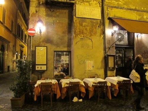 Maccheroni in Rome. Sooooo simple, so good.