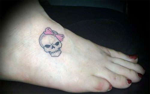 Tiny Skull Tattoo