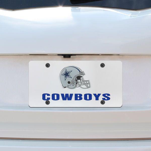 Dallas Cowboys Helmet License Plate