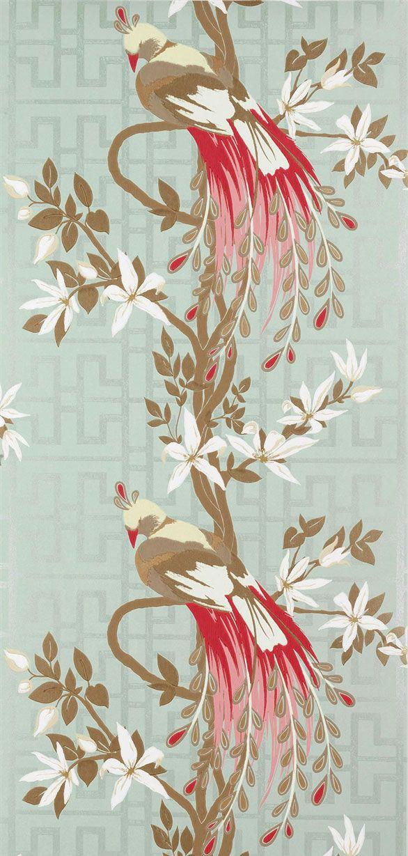 Tapeten Landhausstil Gestreift : Rot auf Pinterest Design Tapeten, Tapete und Tapeten Schlafzimmer
