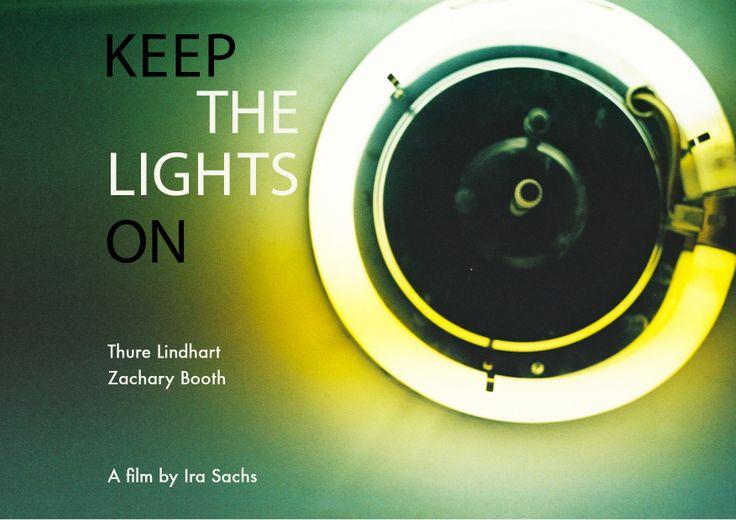 My alternative design for Keep The Lights On for my BFI masterclass with @opasinski tomorrow evening
