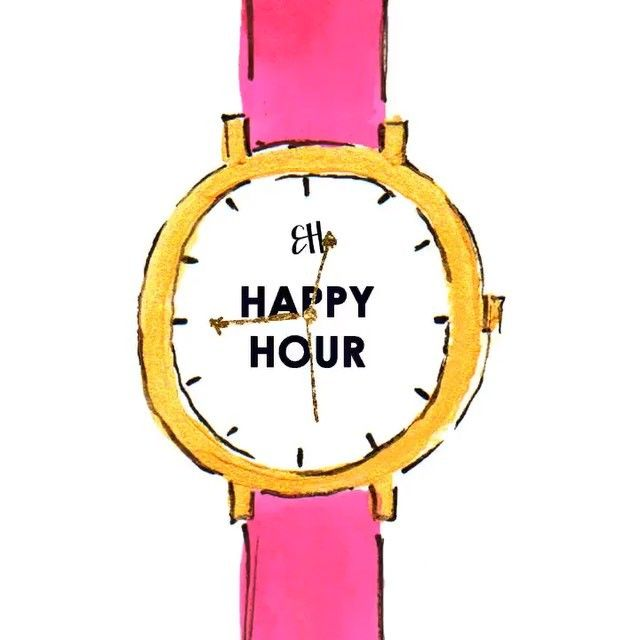 #brightlydecoratedlife tip: every hour is a happy hour (but 5pm on a Friday might be the happiest of them all)!  #evelynhensonvideo