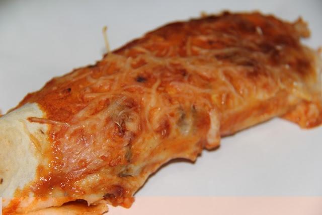 Skinny turkey and black bean enchiladas via The Chronicles of Ruthie ...