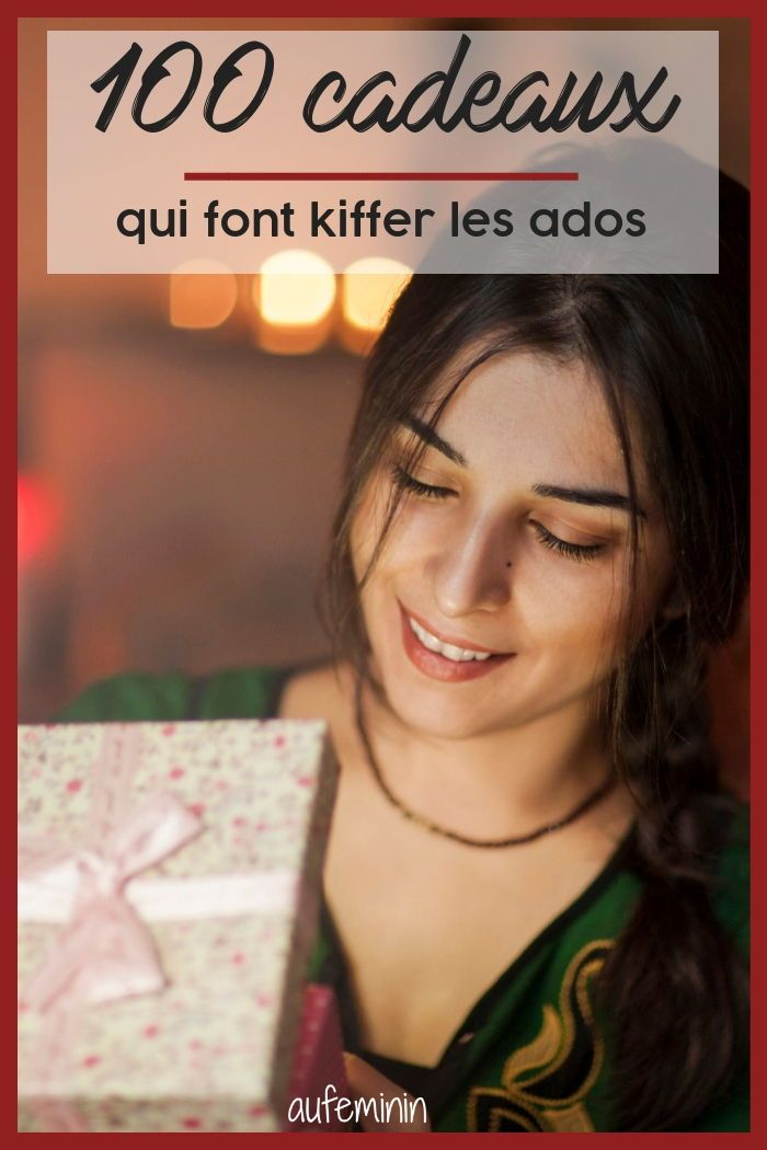 100 Cadeaux Qui Font Kiffer Les Ados Idee Cadeau Ado Fille