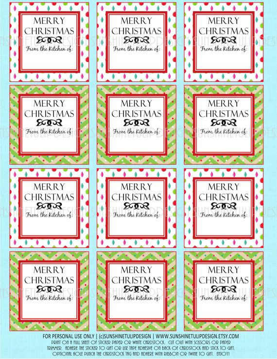 36 best labels images on pinterest christmas crafts christmas these are perfect for your christmas baked goods gifts for teacher appreciation family and friends christmas baked goods labels printable diy bake goods negle Gallery