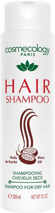 HAIR SHAMPOO FOR DRY HAIR (300 ml)  Das Haarshampoo mit Shea-Öl ist eine wahre Nährstoffbombe. Shea-Öl hat wertvolle Nährstoffe für die Haare, die es mit Geschmeidigkeit, Weichheit und Glanz versorgen. Das Haar wird weich, glatt und seidig. http://www.best-kosmetik.de/marken/cosmecology/hair-shampoo-for-dry-hair.html