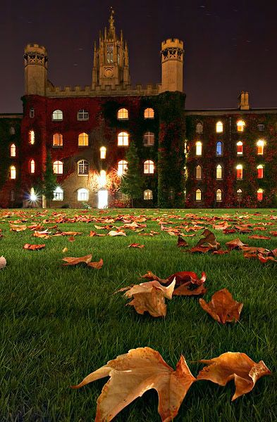 Autumn, Cambridge University,  England