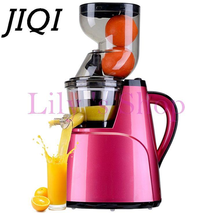 Large wide diameter electric juicer slow speed large-caliber Extractor nutrition fruit Vegetable orange juice machine EU US plug