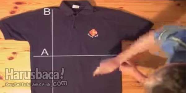 Tips Cara Mudah Melipat Baju Dengan Cepat