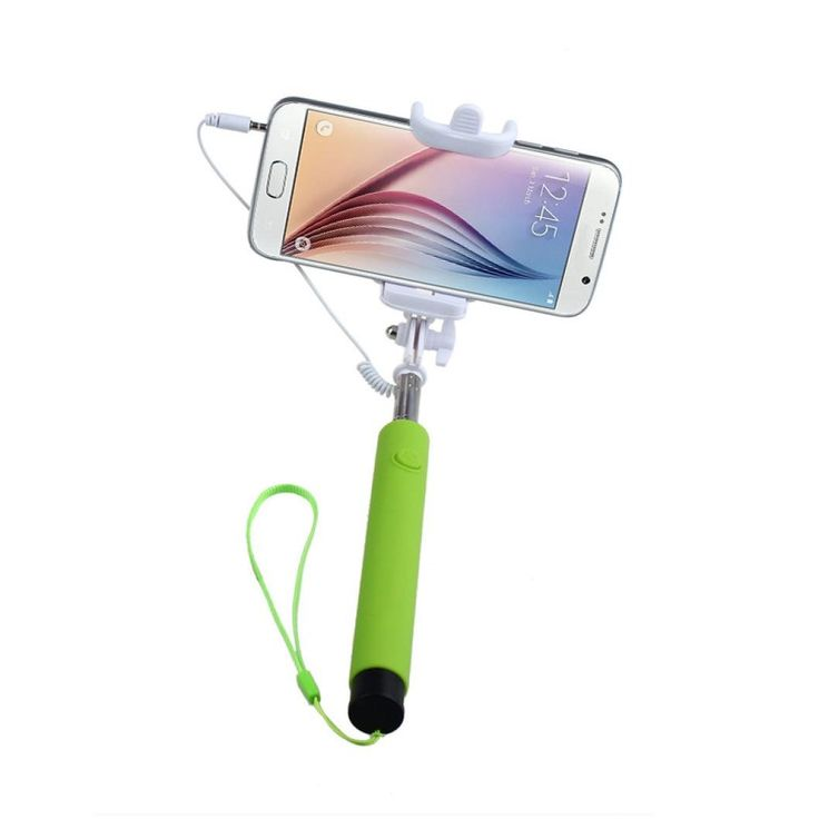 Selfie Stick, HP95(TM) Extendable Selfie Stick Monopod for iPhone Android Wired (C). 7 segments, extend to 85cm and close to 22cm. Pen Size selfie stick monopod extendable. Support IOS and Android system. Material: Aluminum Alloy. Extendable handheld self-stick for iPhone 4 5 5s 6, Samsung S5 Galaxy S6 Galaxy S6 edge, other smartphone.