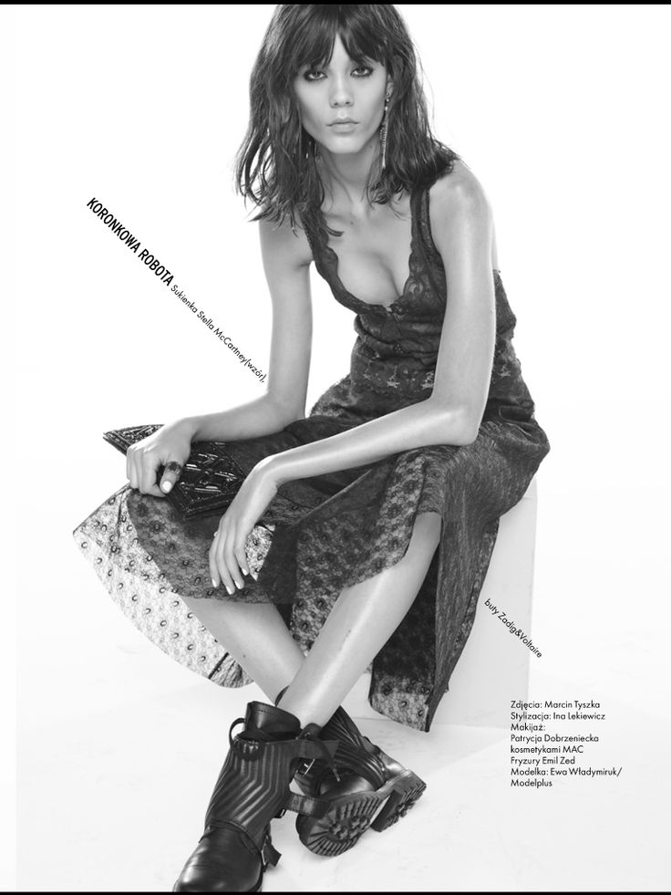 Elle Magazine! Patrycja Dobrzeniecka Makeup Artist . Photo Marcin Tyszka . Stylist Ina Lekiewicz