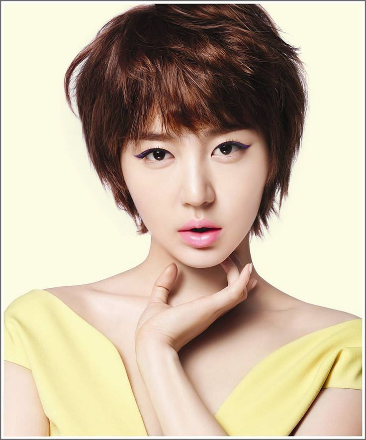 Prime 1000 Images About Korean Ladies Short Hairstyles On Pinterest Short Hairstyles Gunalazisus
