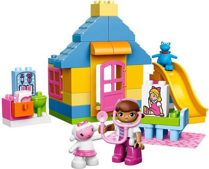 LEGO DUPLO 10606 Doktorka Plyšáková: Ordinace na dvorku | MALL.CZ
