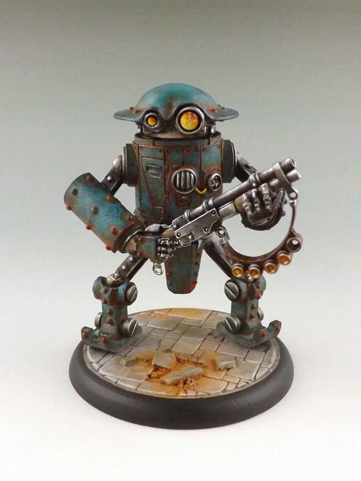 Atlantic Union Assault Bot MkII #3