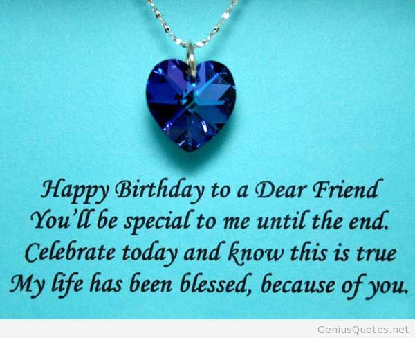 50 quotes for a special friend for his birthday | Birthday ...