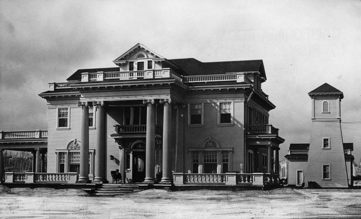 Rives Mansion, Downey, California