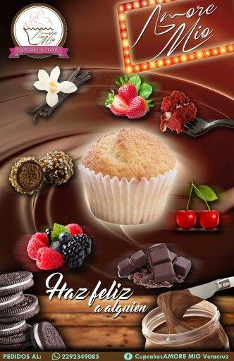 Tienes una fiesta o evento? AMORE MIO es tu mejor opción. Cual es el sabor que mas te gusta? Te damos nuestros sabores básicos: FRESA, VAINILLA. FERRERO,CHOCOLATE, RED VELVET, NUTELLA, BAILEYS Y OREO. CELULAR: 2292349085 (whatsapp) FAN PAGE: Cupcakes AMORE MIO Veracruz