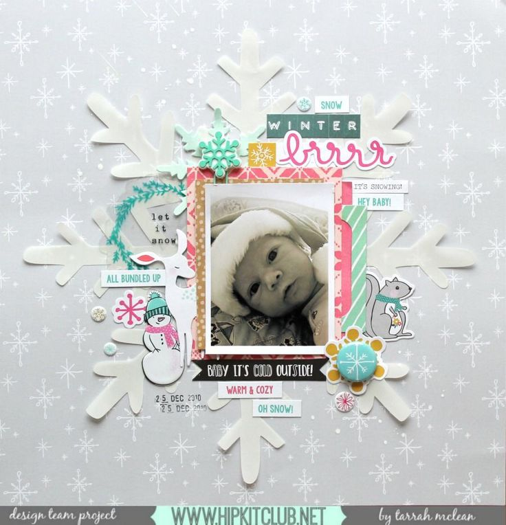 Baby It's Cold Outside | November 2016 Main and Add-On Kits | Hip Kit Club