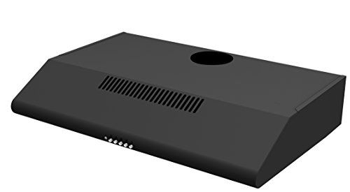 From 37.99 Cookology Visor Cooker Hood | 60cm Black Extractor Fan Rear Or Top Vented Stand600bk