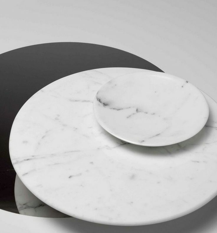 Marble plates by Ramy Fischler.