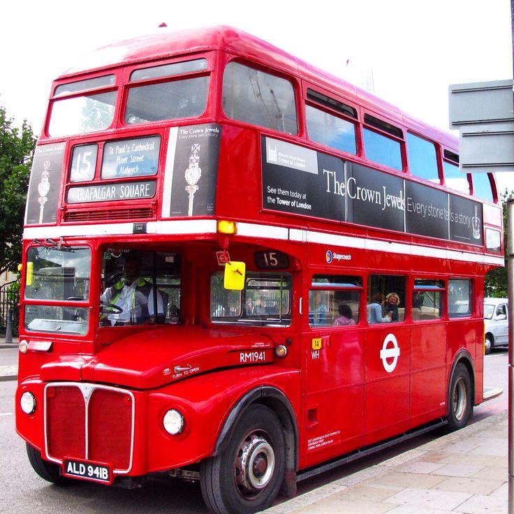 Transporte público. Doble decker bus.