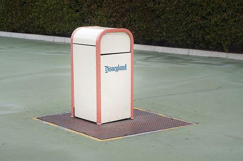 Disneyland Trash Can