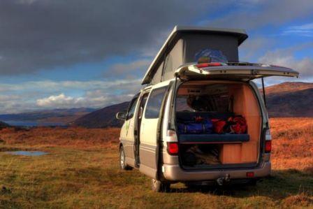 Big Tree Campervan Hire Scotland