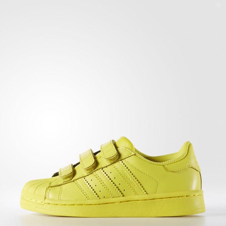 1abb06ca7b reduced yellow adidas superstar kids b387d 52dba