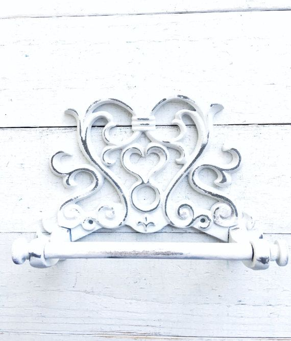 Cast Iron Fleur De Lis Scrolls Key Holder Wall Mounted Coat Rack Antique Style