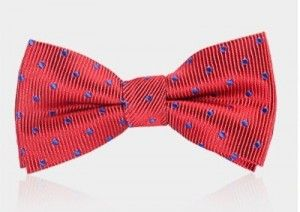 bow tie red 1060