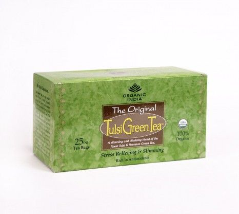 Organic Tulsi Green Tea 25Bags at Rs.135 online in India.