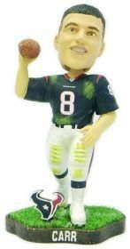 Houston Texans David Carr Game Worn Forever Collectibles Bobblehead