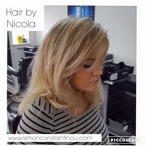 A lovely Cut & Blow Dry by Nicola with added Olaplex ✨ We think Natasha looks stunning!   Call 02920461191 to book or enquire.  O.Constantinou & Sons, 99 Crwys Rd, Cardiff. CF24 4NF  #simonconstantinou #cardiffsalon #hairdressercardiff #blowdry #olaplex Olaplex UK