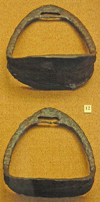 Stirrups. Iron. Golden Horde (Jochi Ulus).  State Historical Museum, Moscow :: Turkic Peoples of the Steppe