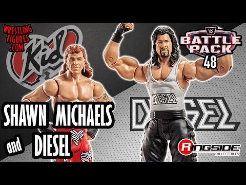 WWE FIGURE INSIDER: Shawn Michaels & Diesel - WWE Battle