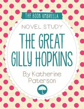 This is a novel study for The Great Gilly Hopkins by Katherine Paterson. 44 pages of student work, plus an answer key! This novel study divides The Great Gilly Hopkins into five sections for study. The chapters are grouped as follows: Chapter 1-3, 4-6, 7-9, 10-12, 13-15.