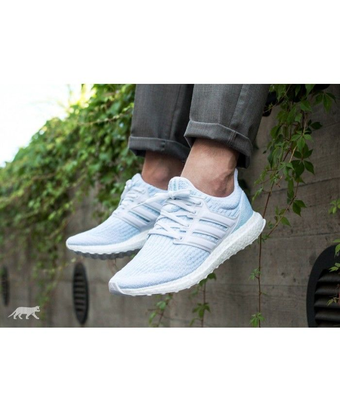 separation shoes 8477e 28824 Adidas Australia Ultra Boost Parley Ftwr White Ftwr White Icey Blue Trainers