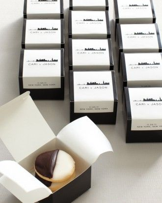 "See the ""City Chic"" in our Favors from Real Weddings gallery"